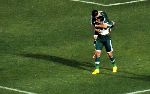 Figueirense x Palmeiras  (Foto: Renan Koerich)