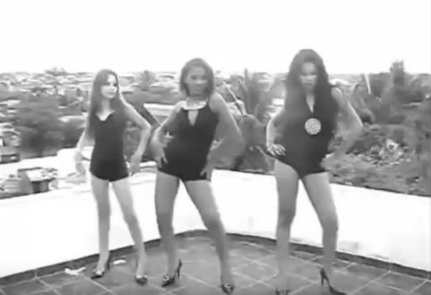 Arielle, Joceli e Stefhany Absoluta (Foto: Reprodução / Youtube)
