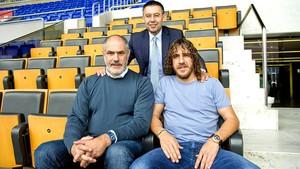Josep Maria Bartomeu Zubizarreta Puyol barcelona camp nou (Foto: Victor Salgado / FCB)