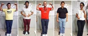 Colaboradores da TV Gazeta fazem competição para entrar em forma; veja (Arquivo Pessoal)