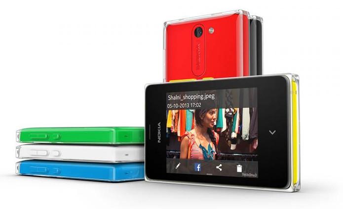 Nokia Asha 503 chega ao Brasil com preço baixo, flash LED e conexões Wi-Fi e 3G (Foto: Divulgação/Nokia)
