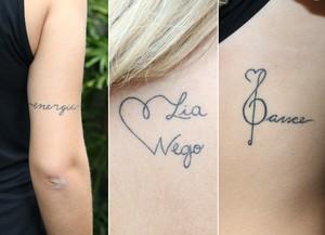 Lorena Improta mostra tatuagens (Foto: Carol Caminha/Gshow)