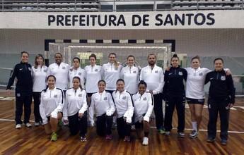 Santos é o novo parceiro do time de handebol adulto do Cepe 2004