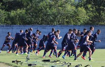 Joinville realiza treino antes de viagem para Salvador, onde enfrenta o Bahia