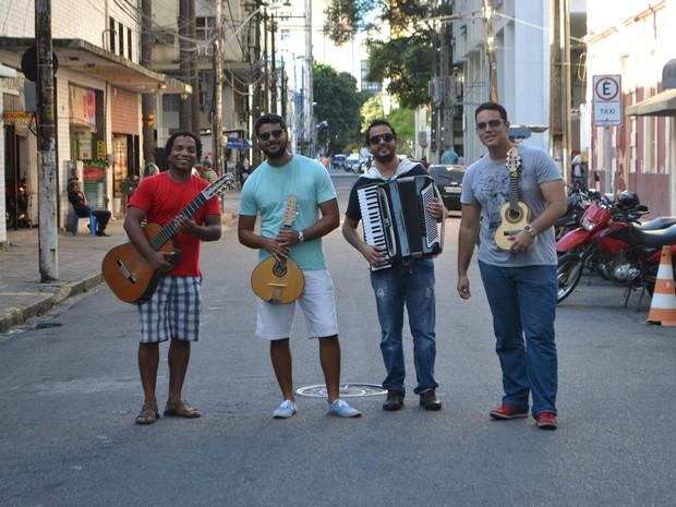 Núcleo Contemporâneo de Choro, Recife (PE) (Foto: Reprodução/ Facebook)