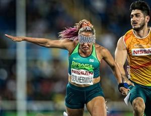 Teresinha Guilhermina final 100m feminino T11 (Foto: Marcio Rodrigues/MPIX/CPB)