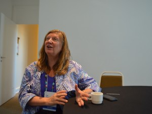 Médica americana Andrea Trescot (Foto: Marina Ortiz/ G1)