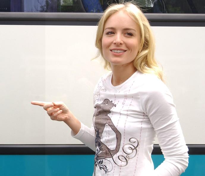 Angélica relembrou em vídeo momentos da primeira temporada (Foto: CEDOC / TV Globo)