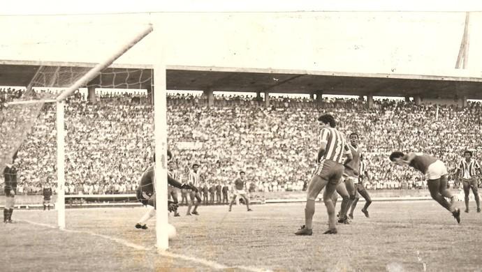 CSA x CRB, em 1980 (Foto: Arquivo Museu dos Esportes)