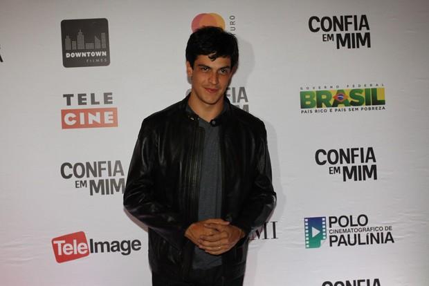 Mateus Solano em pré-estreia de filme em São Paulo (Foto: Claudio Augusto / Foto Rio News)