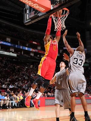 Dwight Howard Rockets x Spurs NBA (Foto: Getty)