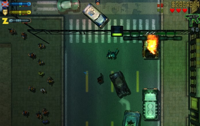 GTA 2 se passa em uma cidade futurista (Foto: Divulgação)