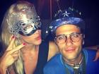 Giovanna Ewbank e Buno Gagliasso entram no clima de carnaval