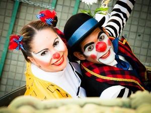 Dupla Babi e Babu faz show no Teatro Via Sul (Foto: Divulgação)