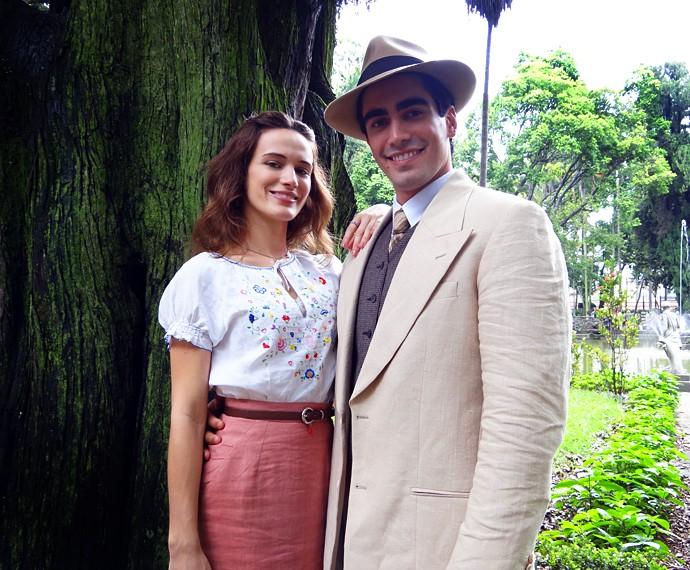 Bianca elogia o marido: 'Foi muito generoso' (Foto: Walter Dhein/Gshow)
