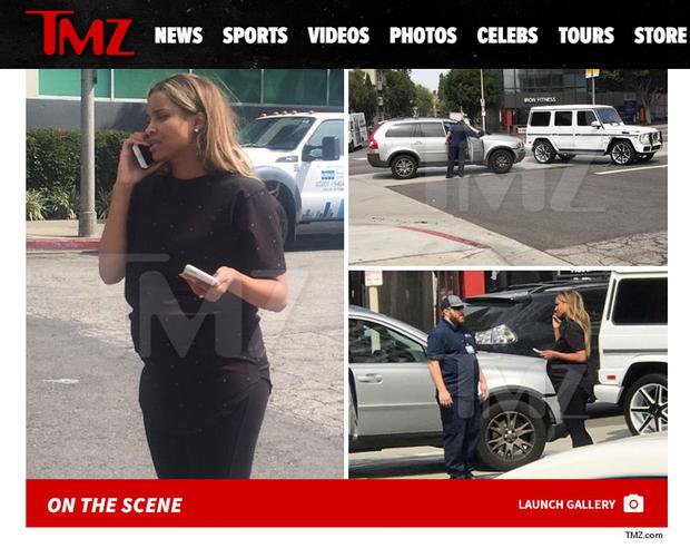 Ciara (Foto: Reprodução/Página do site TMZ)