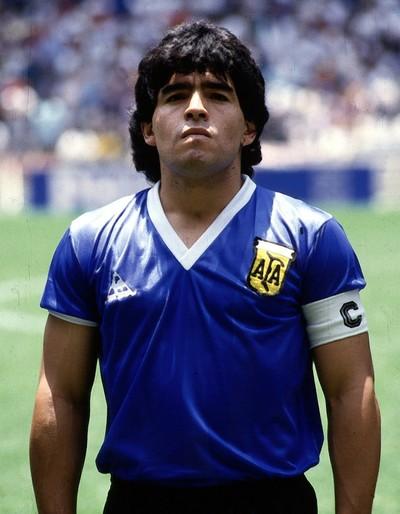 Maradona Argentina x Inglaterra 1986 (Foto: Getty Images)