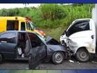 Colisão frontal na rodovia Raposo Tavares deixa feridos em São Roque