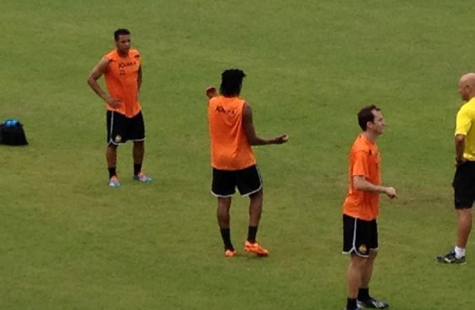 Wellington Bruno Criciúma treino (Foto: João Lucas Cardoso)