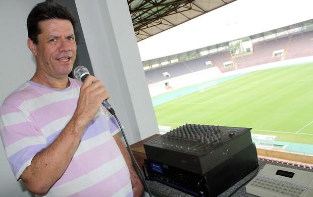 Locutor acredita em festa da torcida do Palmeiras com gol do Corinthians (Foto: Cleber Akamine / globoesporte.com)