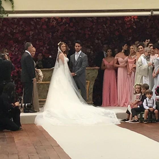 Marina Ruy Barbosa e Xande Negrão: o casamento mais esperado do ano (Foto: Bruno Astuto)