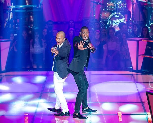 Dilauri e Romero (Foto: Isabella Pinheiro/ TV Globo)