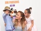 Jennifer Lopez leva os filhos a première nos Estados Unidos