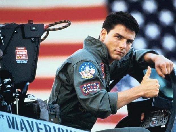 Tom Cruise em Top Gun (Foto: Divulgação)