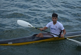 Hericles Miranda, atleta campeão da categoria júnior (Foto: Gustavo Campos/GloboEsporte.com)