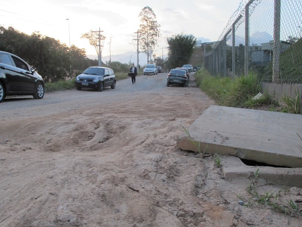Avenida Steve Jobs, em Jundiaí, SP (Foto: Rafael Miotto/G1)