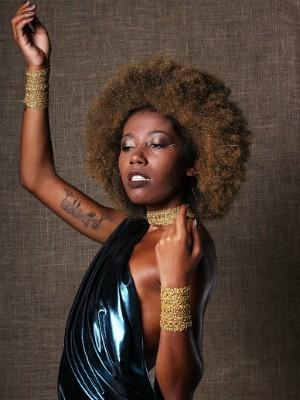 Exposição traz o debate sobre o papel do cabelo afro no empoderamento da mulher negra  (Foto: Caio Mota/Arquivo Pessoal )