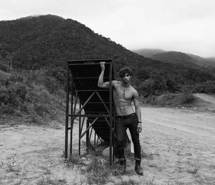 Pablo Morais também é modelo (Foto: Murilo Meireles)
