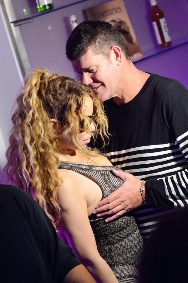 Mariah Carey e James Packer (Foto: AKM-GSI)
