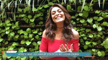 Juliana Paes comenta cena da festa frustrada de Dedé