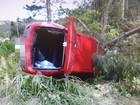 Três homens morrem em acidentes em rodovias de SC no domingo