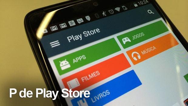 cartela play store (Foto: G1)