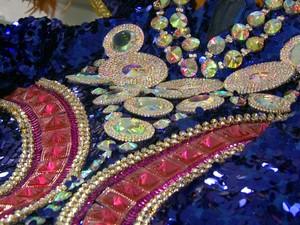 Peças de luxo são repletas de brilhos e detalhes (Foto: Reprodução/EPTV)