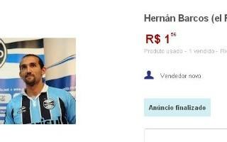 Barcos Grêmio à venda (Foto: Reprodução/Site Mercado Livre)