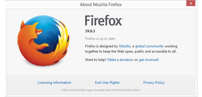 Nova versão do Firefox corrige vulnerabilidade (Foto: Reprodução/Firefox)