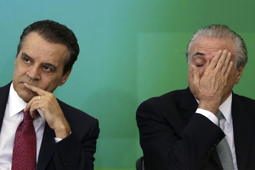 OAS teria pago R$ 500 mil a Henrique Alves através de conta de Temer (Foto: Ueslei Marcelino/Reuters)