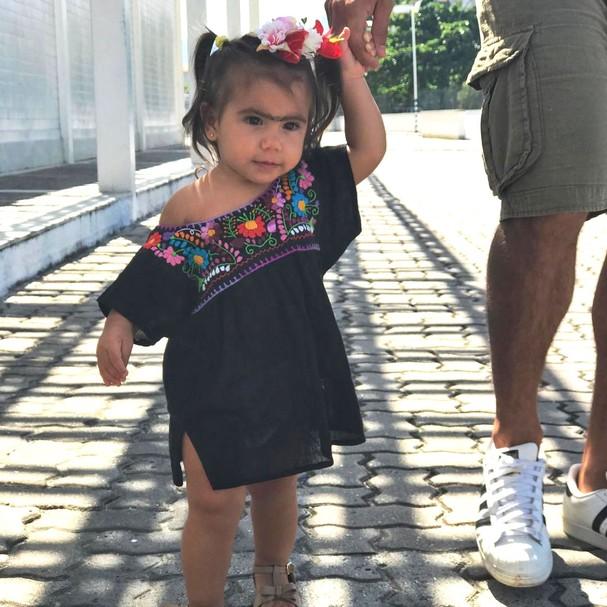 Maria Flor, de um ano de idade (Foto: Reprodução Instagram)