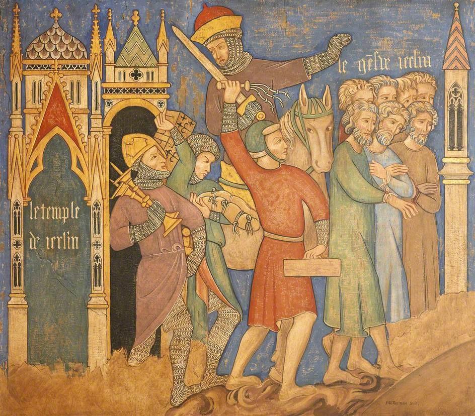 Pintura medieval (Foto: Reprodução)