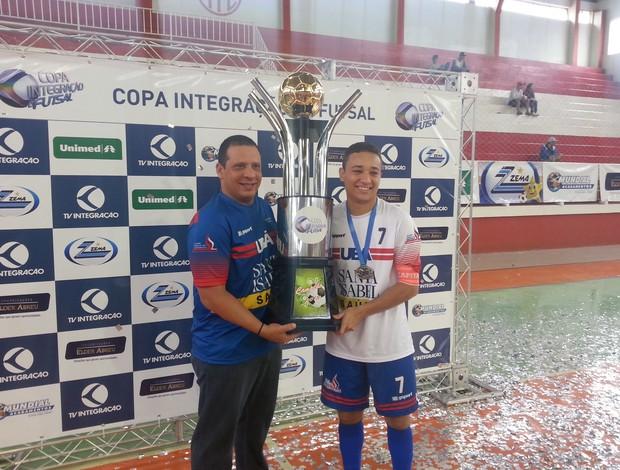 Ubá Campeã Copa Integração 2013 Leo Cirnon (Foto: Roberta Oliveira)