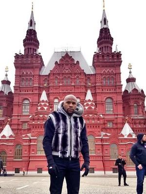 Floyd Mayweather na Rússia (Foto: Reprodução / Instagram)