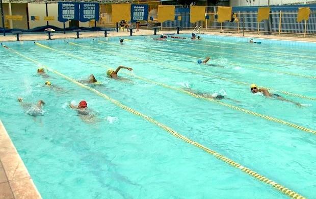 Atletas intensificam preparação e buscam baixar os tempos para a competição (Foto: Globo Esporte Acre)