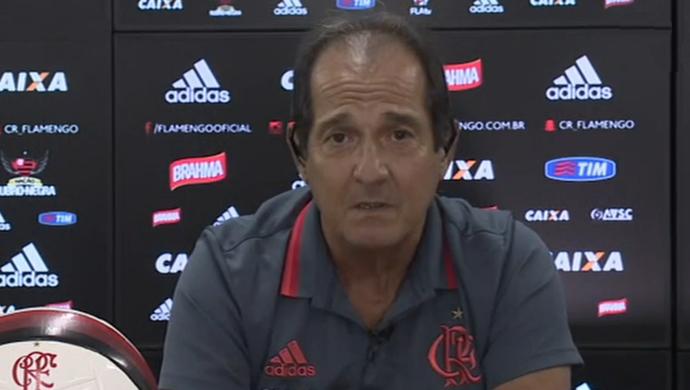Muricy Ramalho, técnico do Flamengo (Foto: Reprodução SporTV)