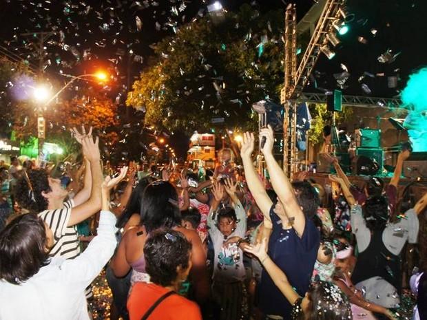 Batalha de Confetes ocorria desde 2004, em Macapá (Foto: Divulgação/Confraia Tucuju)
