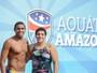 Atletas olímpicos participam de ação social antes do Rio Negro Challenge