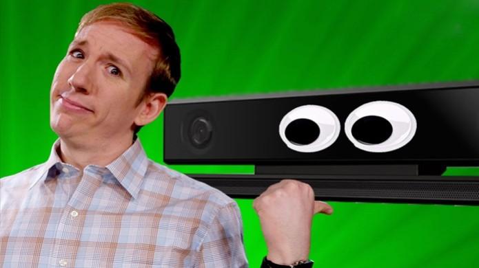 Muitos usuários se preocupam em serem espionados pelo Kinect (Foto: youtube.com) (Foto: Muitos usuários se preocupam em serem espionados pelo Kinect (Foto: youtube.com))