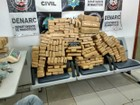 Polícia Civil apreende mais de 117 quilos de maconha em Rondônia